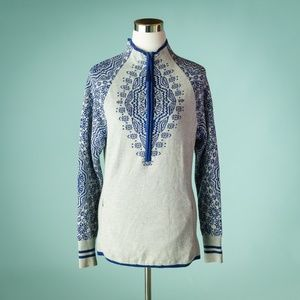 Athleta M Nordic Fair Isle Sweater